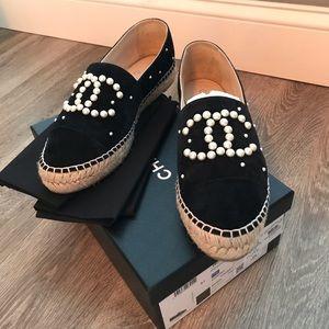 Chanel Pearl Espadrilles